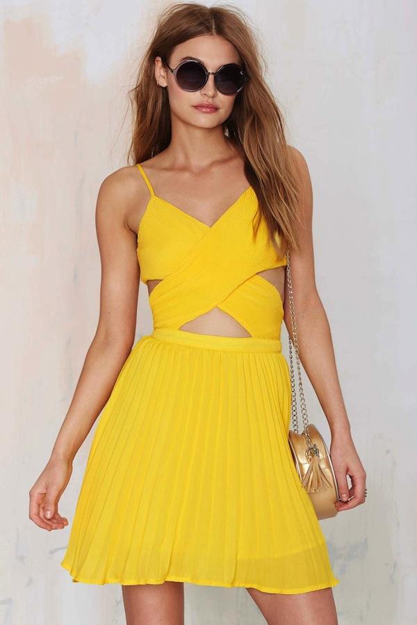 Glamorous Favorite Ex Crossover Dress
