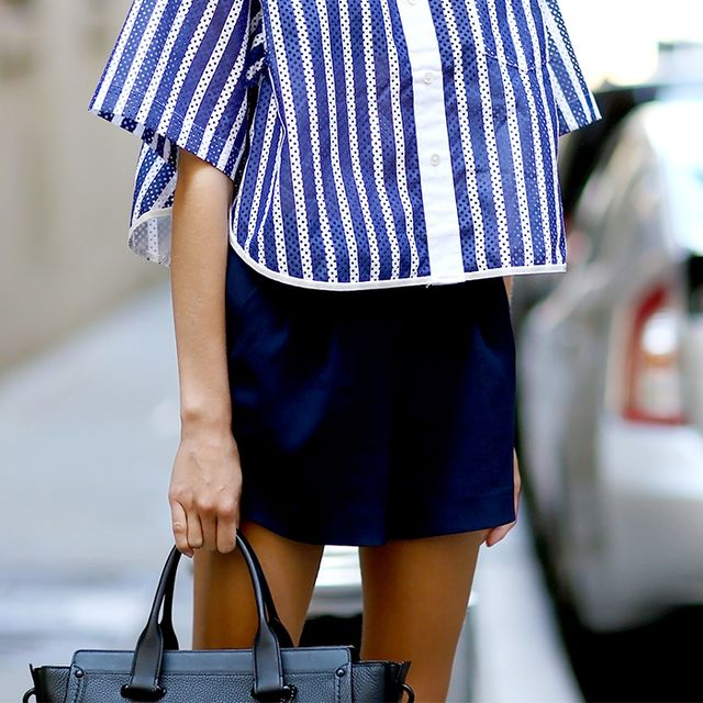The Type of Top You Should Be Wearing With Your Miniskirt