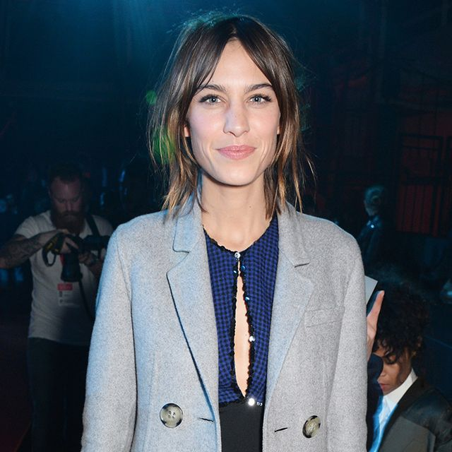 What Alexa Chung Wears on a Date