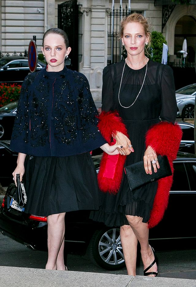 Uma Thurman and Maya Hawke