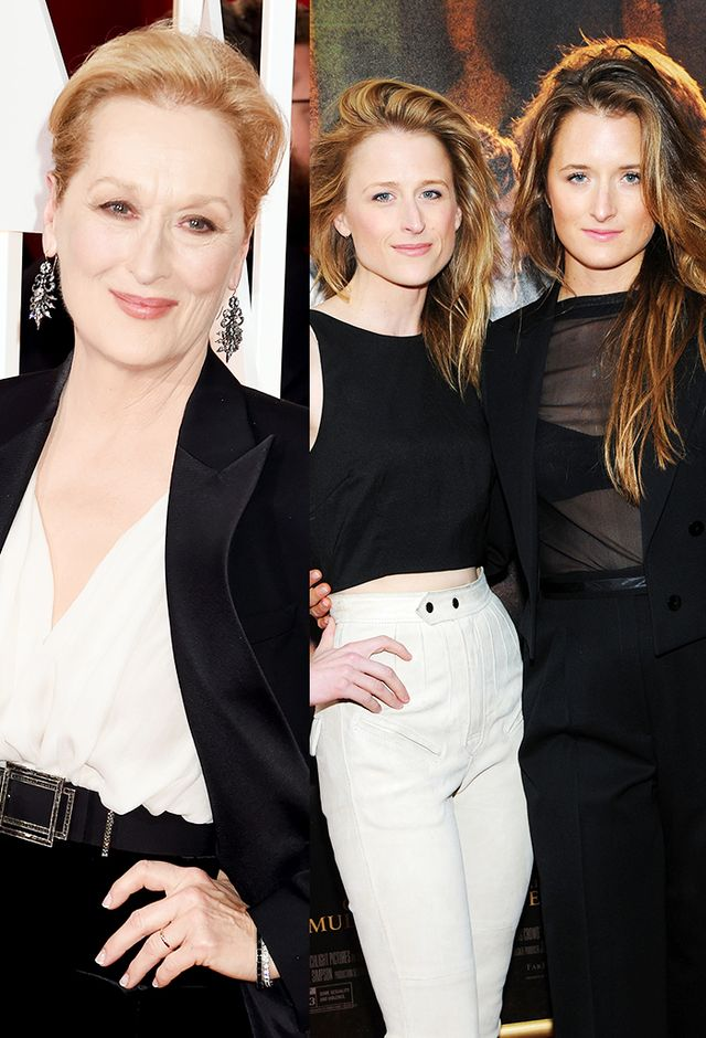 Meryl Streep and Mamie and Grace Gummer
