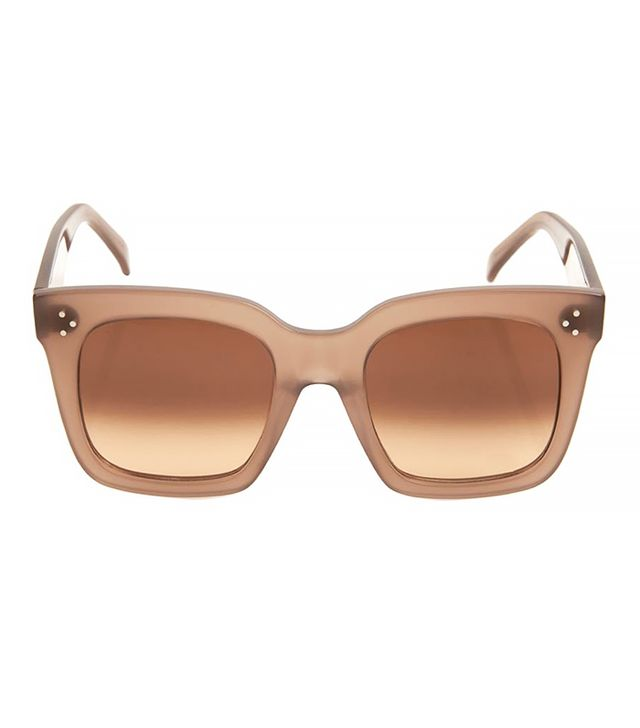 Céline Square-Framed Acetate Sunglasses