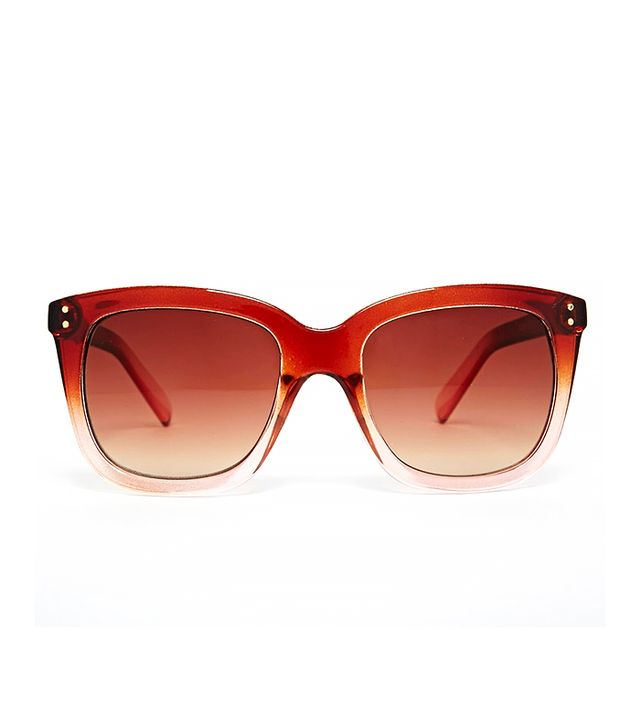 Warehouse Ombre D Frame Sunglasses