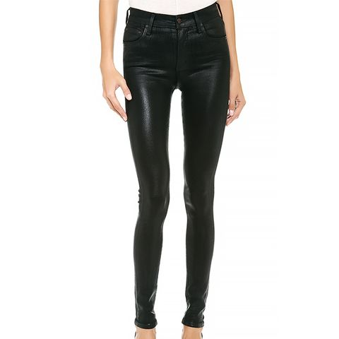 Citizens of Humanity Black Leatherette Jeans