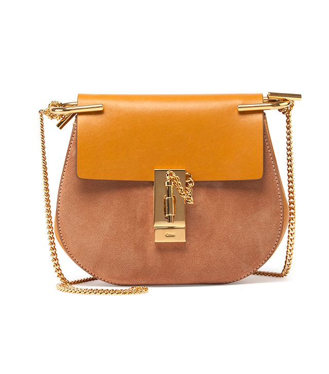 Chloé Drew Small TwoTone Shouldeor Bag