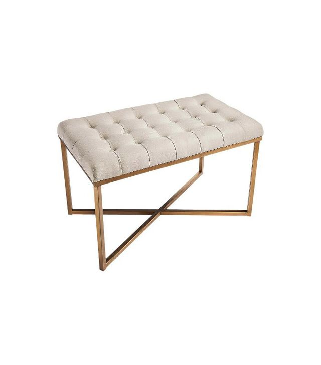 Threshold Tufted Bench