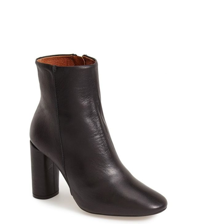 Topshop Magnum Leather Ankle Boots
