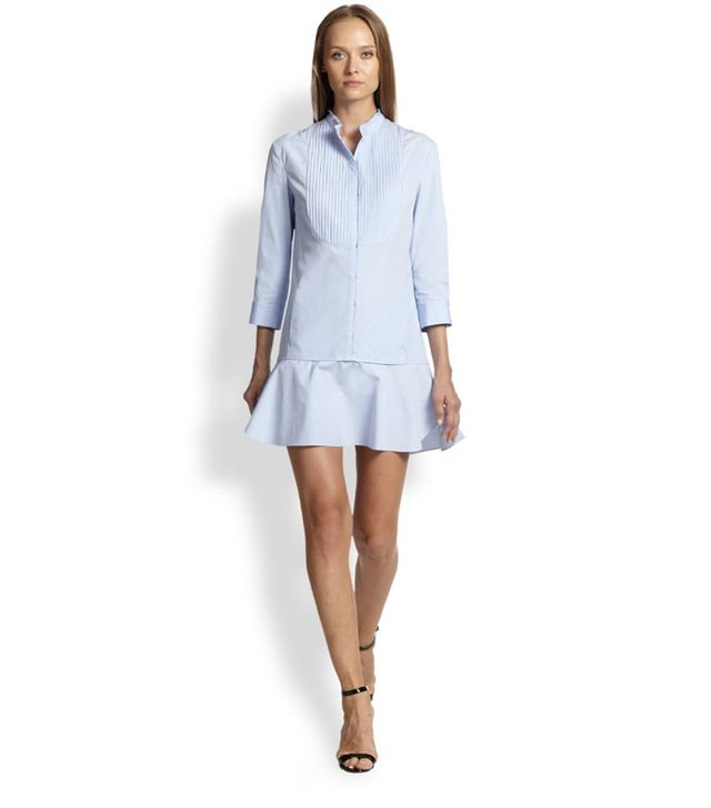 Nina Ricci Poplin Mini Shirtdress