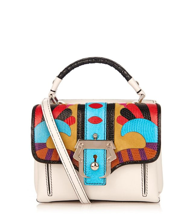 Paula Cademartori Dun Dun Cross-Body Leather Bag