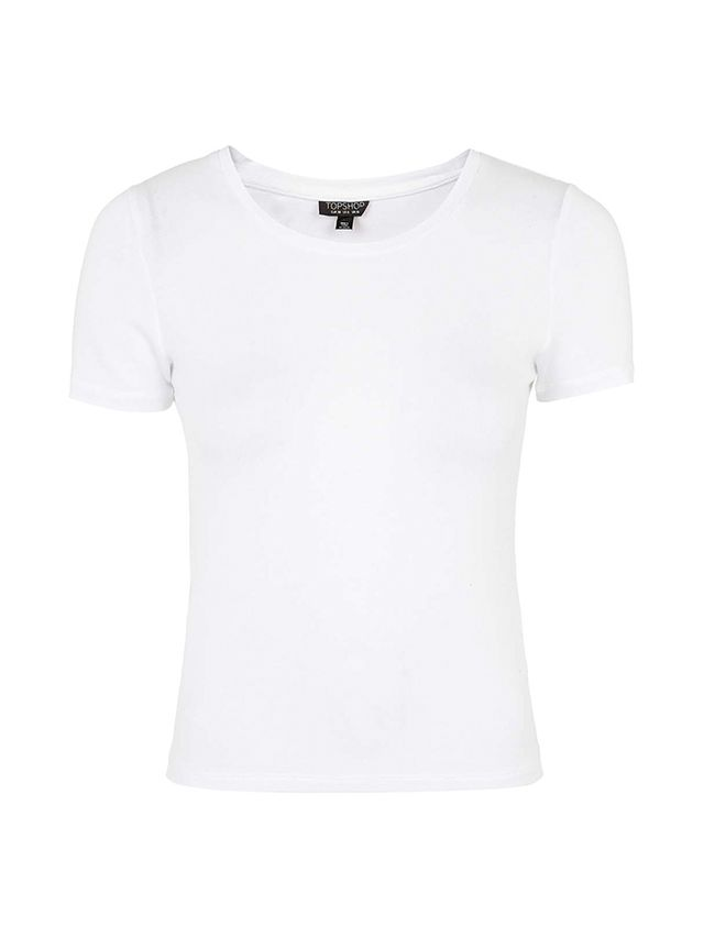Topshop Fitted '70s Tee