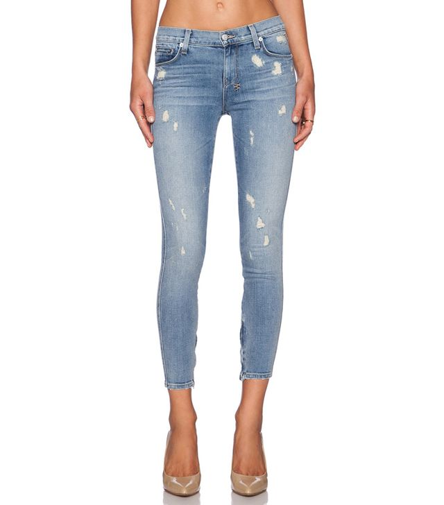 Ksubi Spray On Crop Jeans