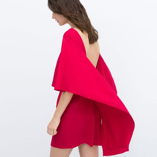Zara Cape Dress