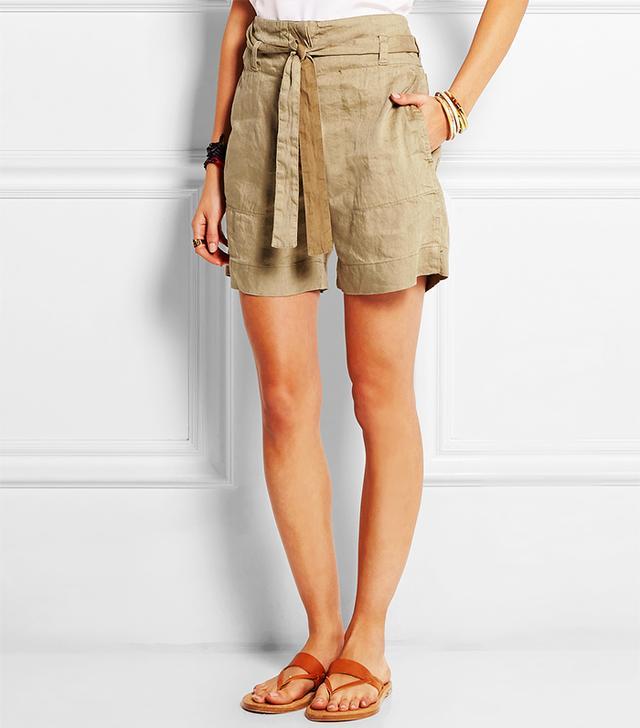 Étoile Isabel Marant Celia Linen-Blend Shorts