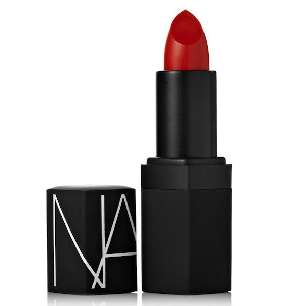 NARS Semi Matte Lipstick in Jungle Red