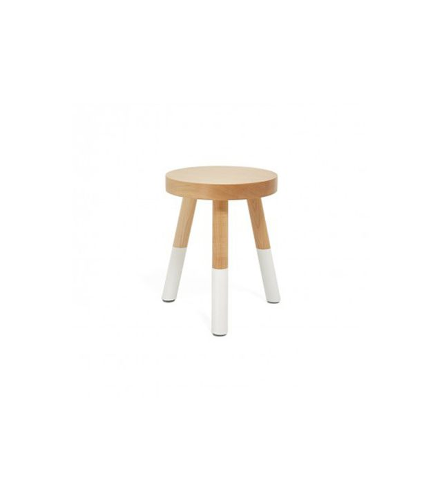 Um Project Small White Milking Stool