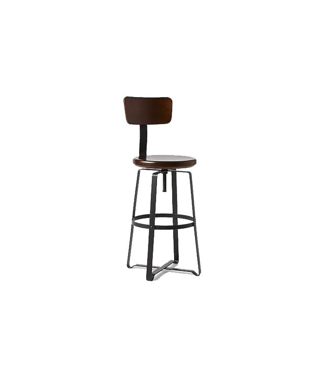 West Elm Industrial Adjustable Stool