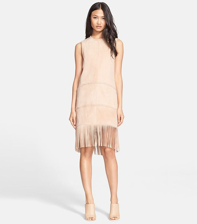 Rachel Zoe Celia Suede Shift Dress