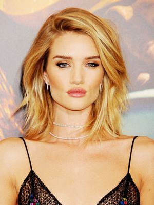 The Denim Shirt Rosie Huntington-Whiteley Loves