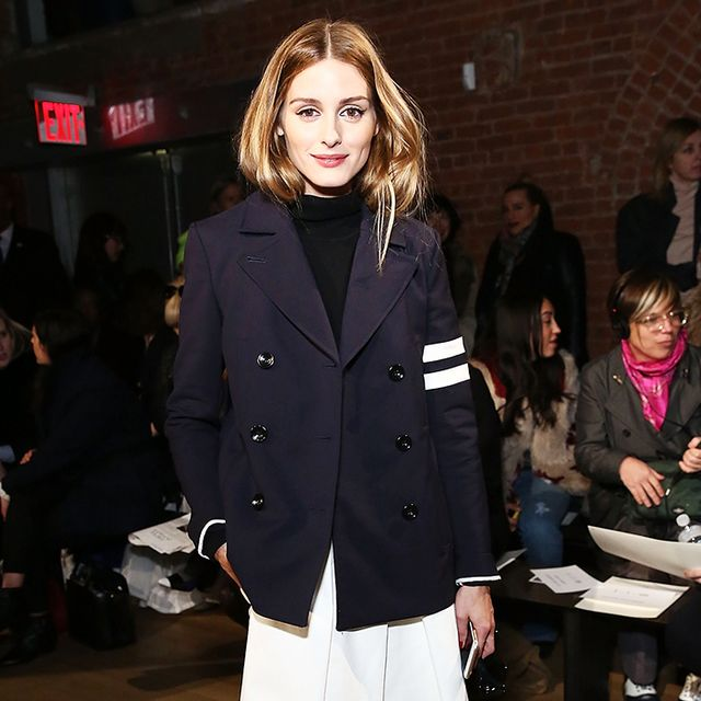 Olivia Palermo Owns These Pants in Almost Every Color