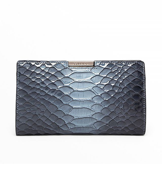 Milly Bree Python Small Frame Clutch