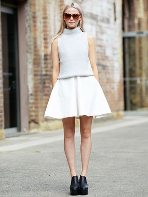 How to Elevate Your Favorite Miniskirt