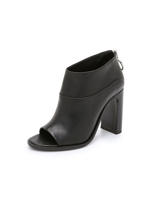 Rag & Bone Liam Open Toe Booties
