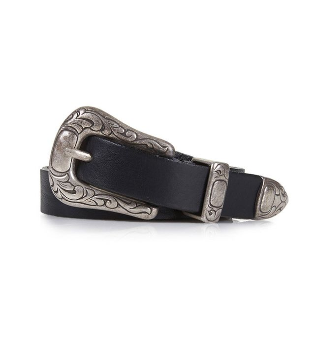 Topshop Leather Western Detail Belt