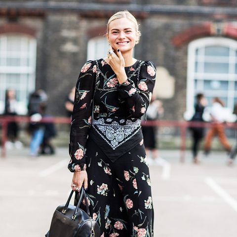 The Coolest Way to Wear a Maxi Dress