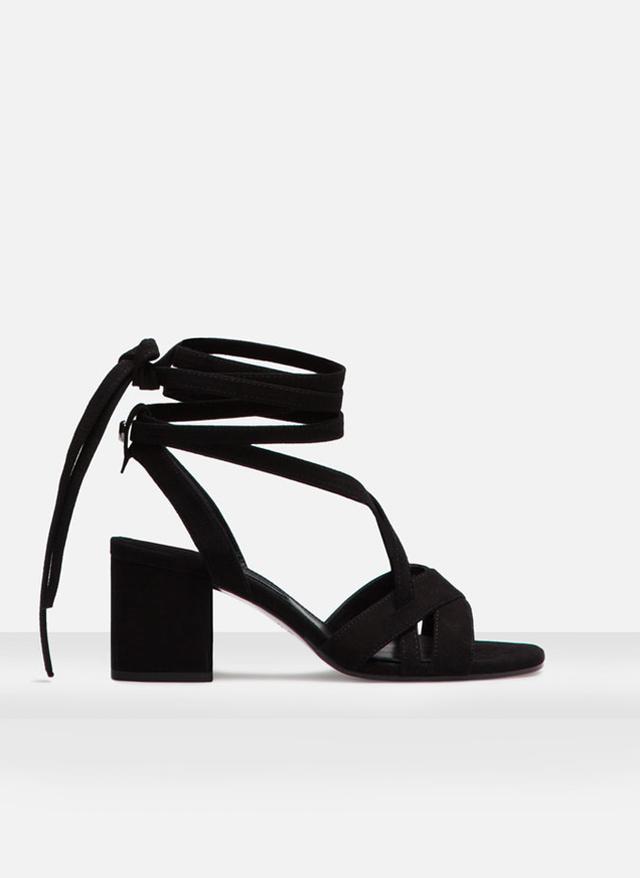 Uterqüe Tie Sandals