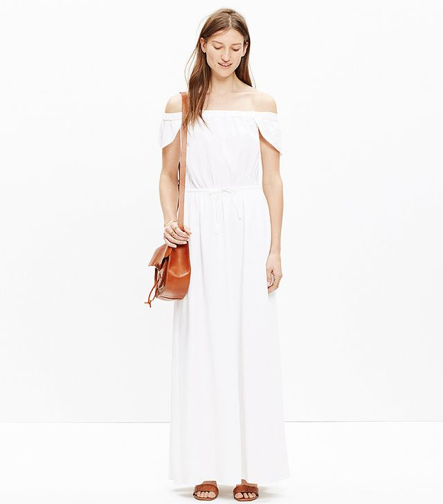 Madewell Off-the-Shoulder Maxi Dress