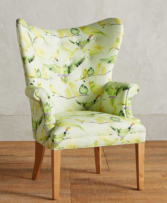 Voutsa Birds Wingback Chair