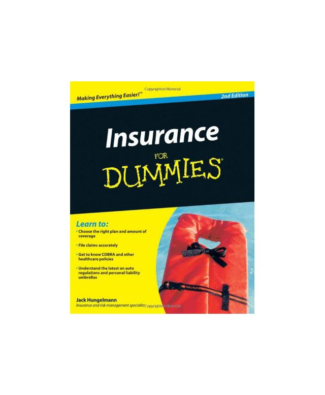 Insurance for Dummies by Jack Hungelmann