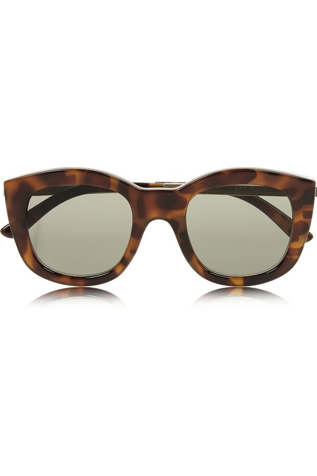 Le Specs Runaways Luxe Cat Eye Acetate Sunglasses