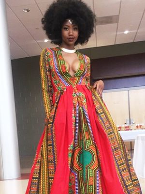 Bullied Teen Designs Jaw-Dropping Prom Dress