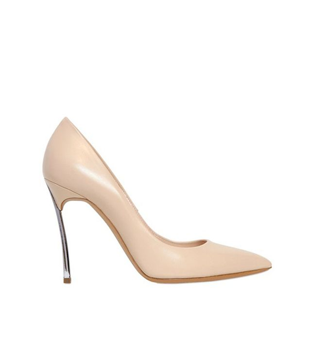 Casadei Leather Blade Pumps
