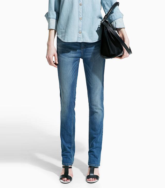 Mango Slim-Fit Alice Jeans