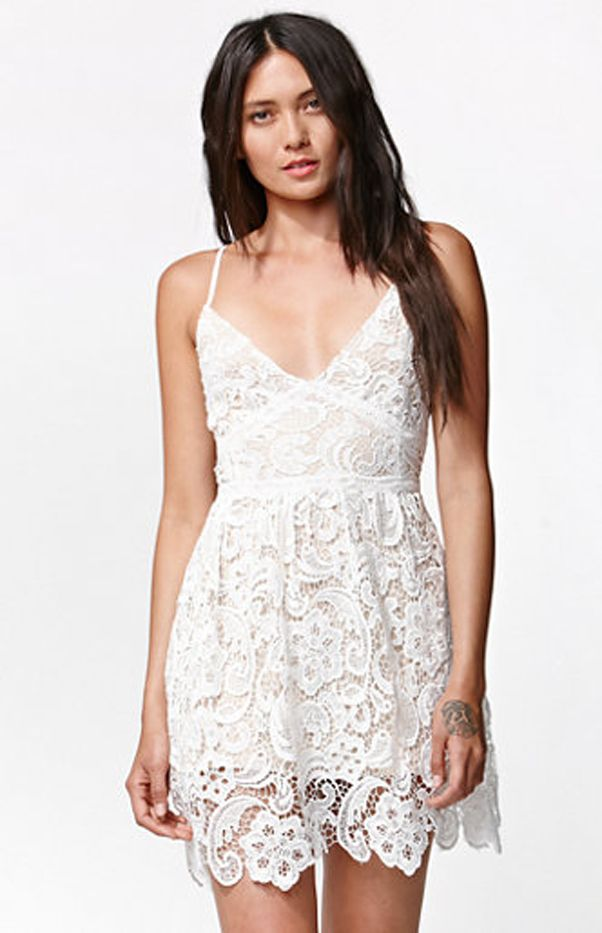 Kendall & Kylie for PacSun Sleeveless Crochet Dress