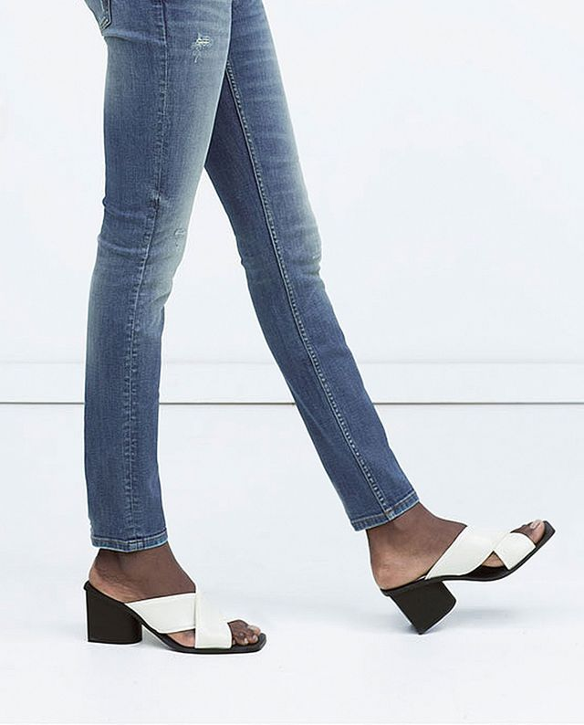 Zara High-Heeled Sandals