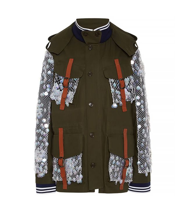 Rodarte Olive Canvas Jacket