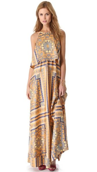Torn by Ronny Kobo  Celina Long Dress