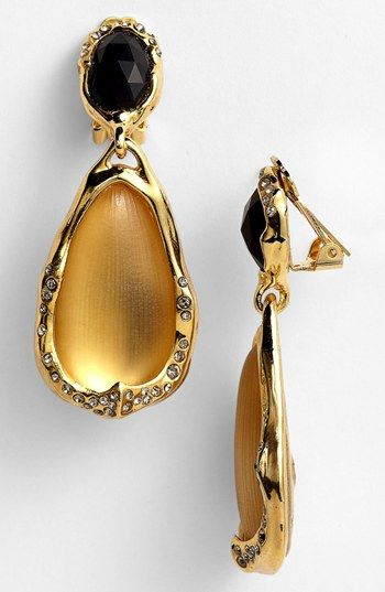 Alexis Bittar Drop Clip Earrings