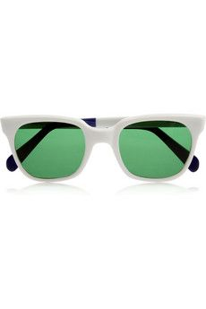 Sheriff&Cherry  D-Frame Acetate Sunglasses