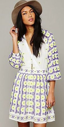 Free People  Free People New Romantics Sugar and Spice Dress