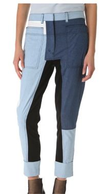 3.1 Phillip Lim 3.1 Phillip Lim Cut-Up Surf Pants