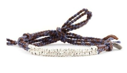 Chan Luu Chan Luu Cloud Grey Mix Cotton Cord Bracelet
