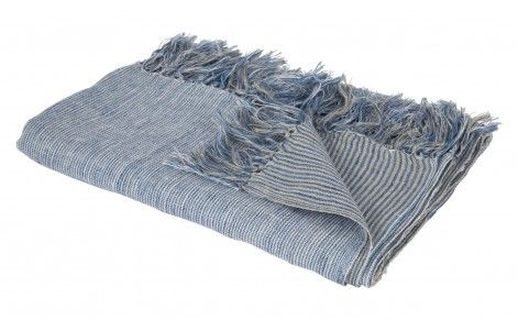 Jayson Home Cove Throw in Blue