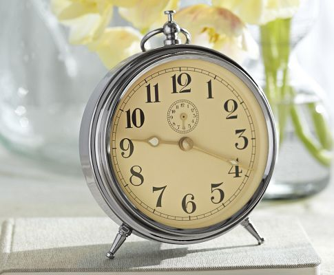 Pottery Barn  Charleston Vintage Clock