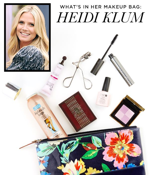 What's In Her Makeup Bag: Heidi Klum