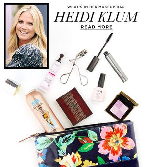 What's In Her Makeup Bag: Heidi Klum