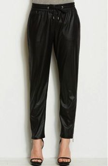 A|X Armani Exchange A|X Armani Exchange Faux Leather Jogger Pants